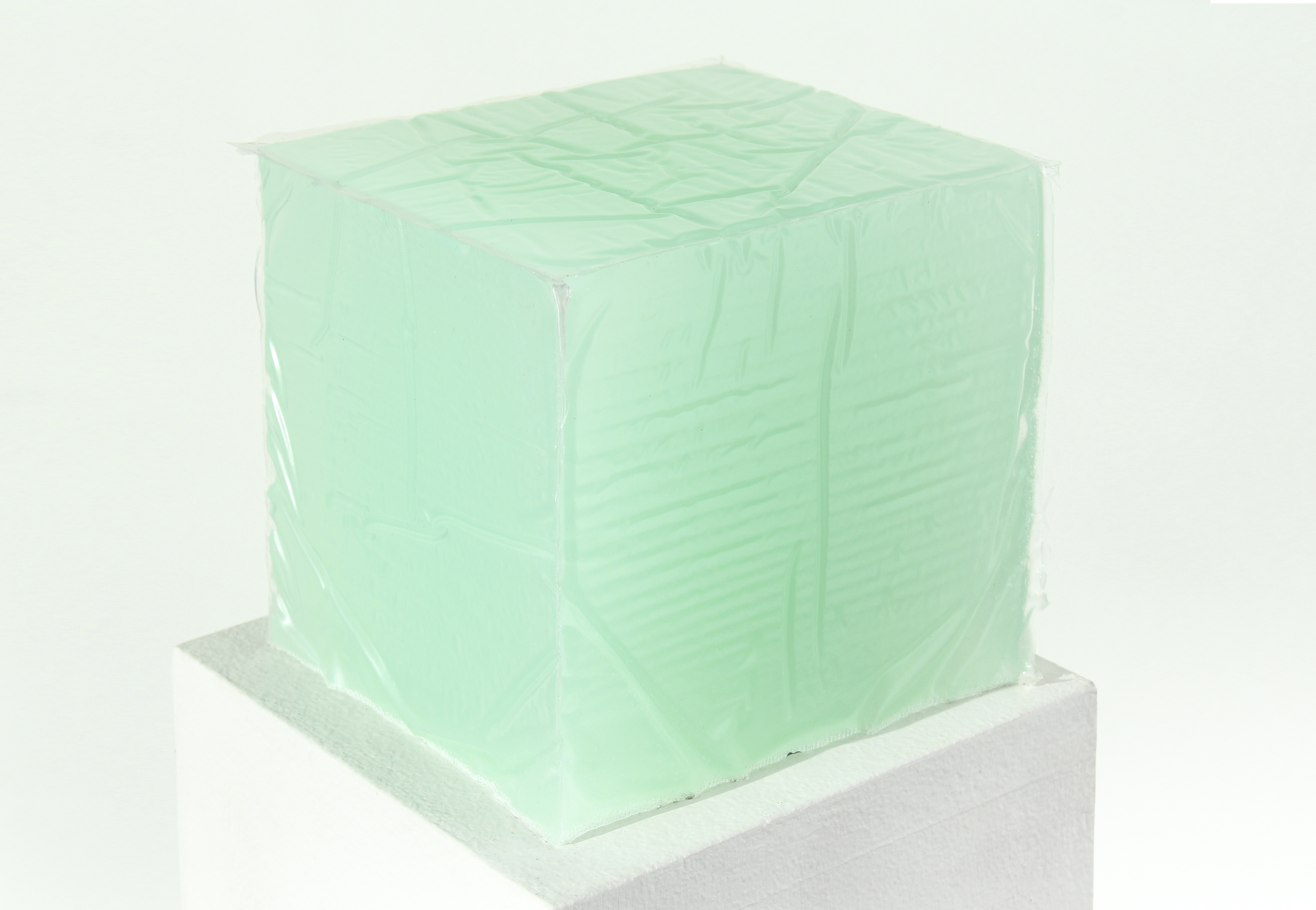 Opaque Green Cube