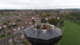 Structural Inspections using a Drone, just one of the services offered by Firefly Aerial Imaging