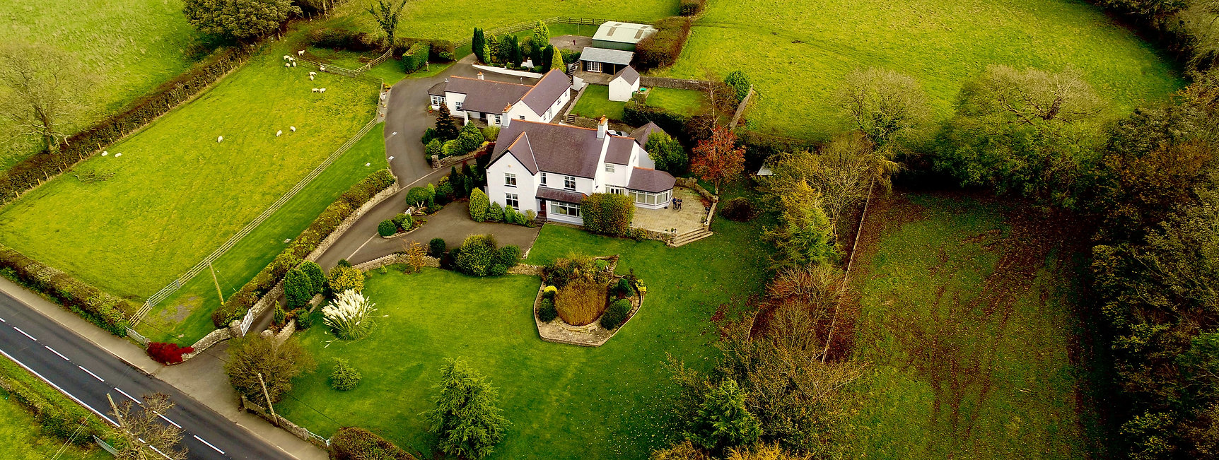 Stunning Aerial photographs for property marketing, supplied by Firefly Aerial imaging, Commercial Drone services.