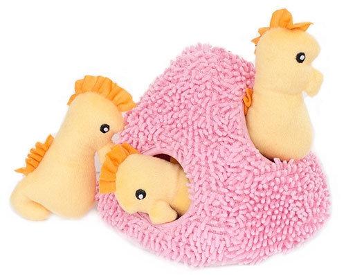 Seahorse 'n Coral Burrow Toy