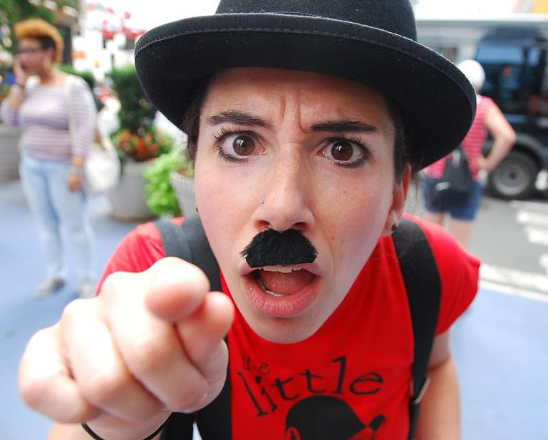 Singing Telegram Charlie Chaplin