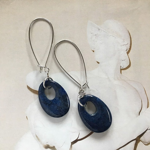 Lapis Stone Earrings