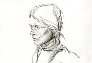 Helga   Andrew Wyeth Mastercopy