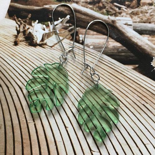 Split Leaf Earrings