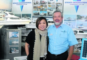 Taree boat manufacturer, Steber International, continues to thrive