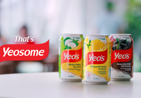 Yeo's, No.1 Asian Drinks Brand in Singapore, Hands Media Duties to The Media Shop