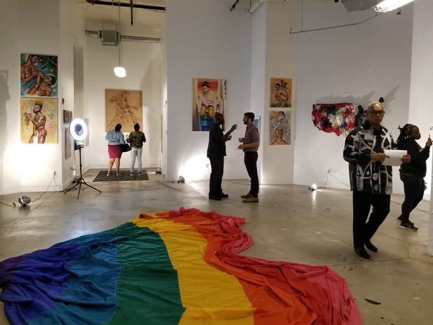 Artfront Galleries curated/2018  OUT LOUD