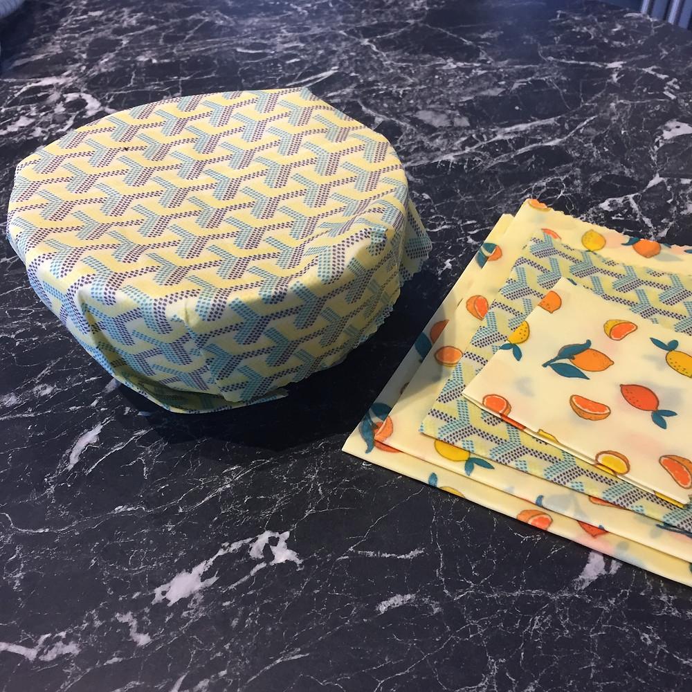 Emballage ciré - Beewrap - La Récolte Citadine