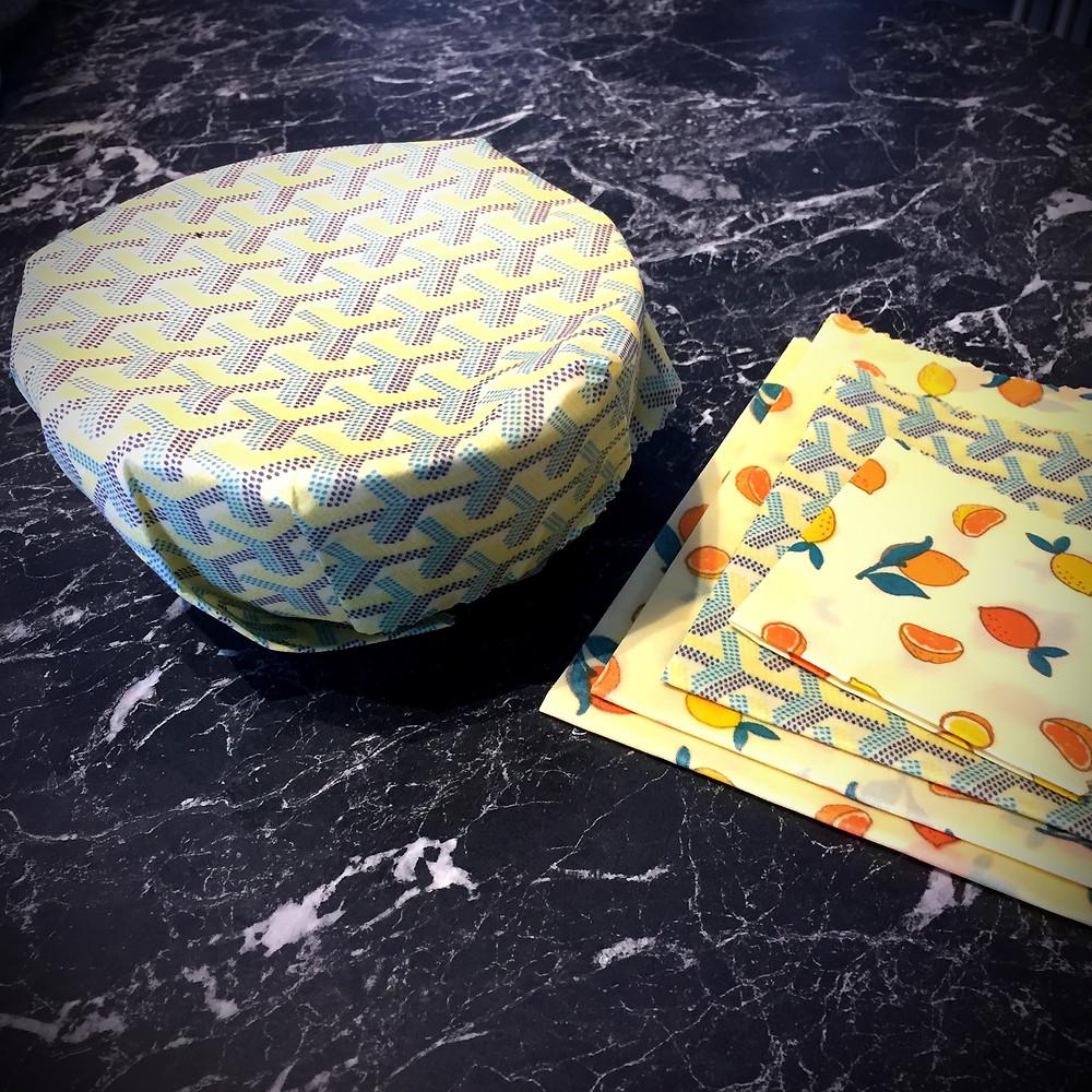 Bee Wrap - Emballage ciré - La Récolte Citadine