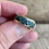 Thumbnail: Sterling silver inlayed ring size 7