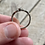 Thumbnail: Antique sterling silver Celtic onyx ring size 7 1/2