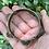 Thumbnail: Antique silver time etched bracelet