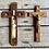 Thumbnail: Antique Last Rites wall hanging crucifix rare