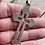 Thumbnail: Antique sterling silver Orthodox cross from Mount Athos