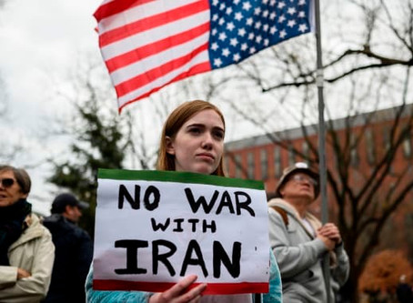 It is very patriotic to oppose foreign wars