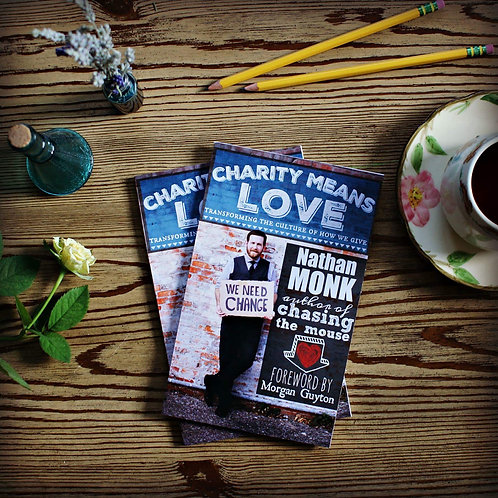 Charity Means Love - 10 Book Gift Pack