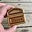Thumbnail: Vintage woven wicker jewelry box