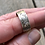 Thumbnail: Sterling silver sizable ring with engraved woman
