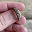 Thumbnail: Retro sterling etched ring size 7