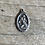 Thumbnail: Antique sterling silver Saint Christopher holy medal