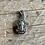 Thumbnail: Vintage engraved prayer box hope pendant