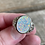 Thumbnail: Sterling silver opal ring size 8