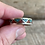 Thumbnail: Sterling silver inlay ring size 11