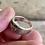 Thumbnail: Art Deco sterling silver ring size 5 1/2