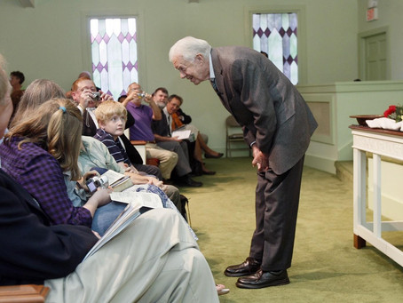 We've all seen photos of President Carter building houses but its so much more than that