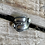 Thumbnail: Antique sterling silver spoon ring size 8