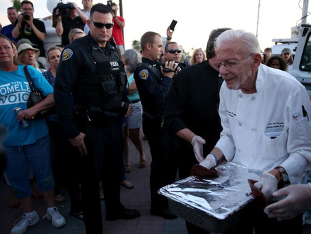 First Amendment protects giving away food to homeless folks - determines Federal Court