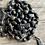 Thumbnail: Antique nun rosary wood bead with rosary box