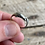 Thumbnail: Antique dolphin ring sterling silver size 6 1/2
