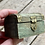 Thumbnail: Antique small jewelry box with brass features