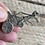 Thumbnail: Antique sterling silver stagecoach broach