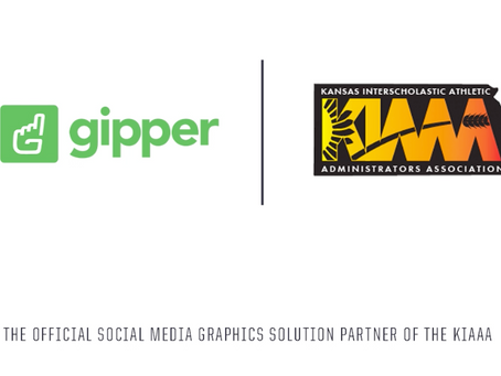 Gipper Signs Partnership to Become the Official Social Media Graphics Solution of the KIAAA