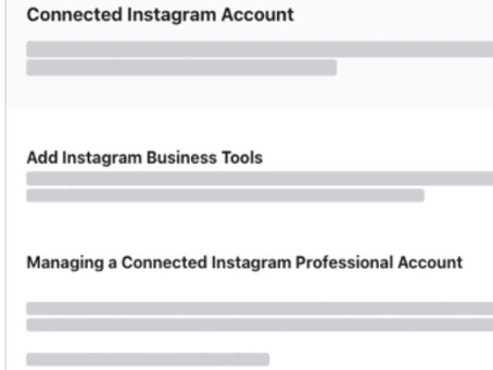 Changing your Instagram Personal Profile to a Business Profile