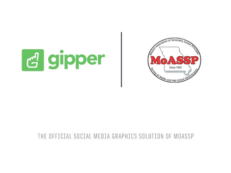 Gipper Signs Partnership to Become Official Social Media Graphics Solution Partner of the MoASSP