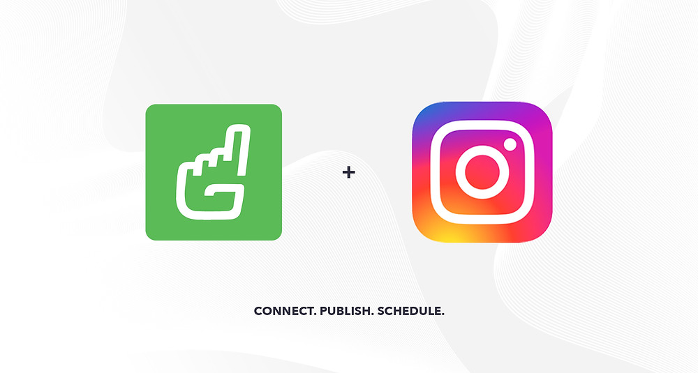 Graphic showing Gipper and Instagram integration