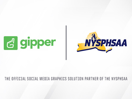 Gipper Signs Partnership to Become Official Social Media Graphics Solution Partner of the NYSPHSAA