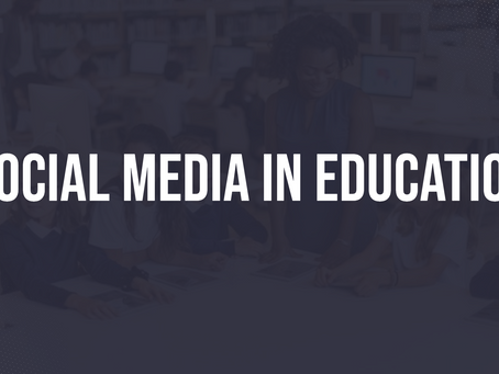Social Media in Education: Communicate more effectively, extend learning & celebrate student success