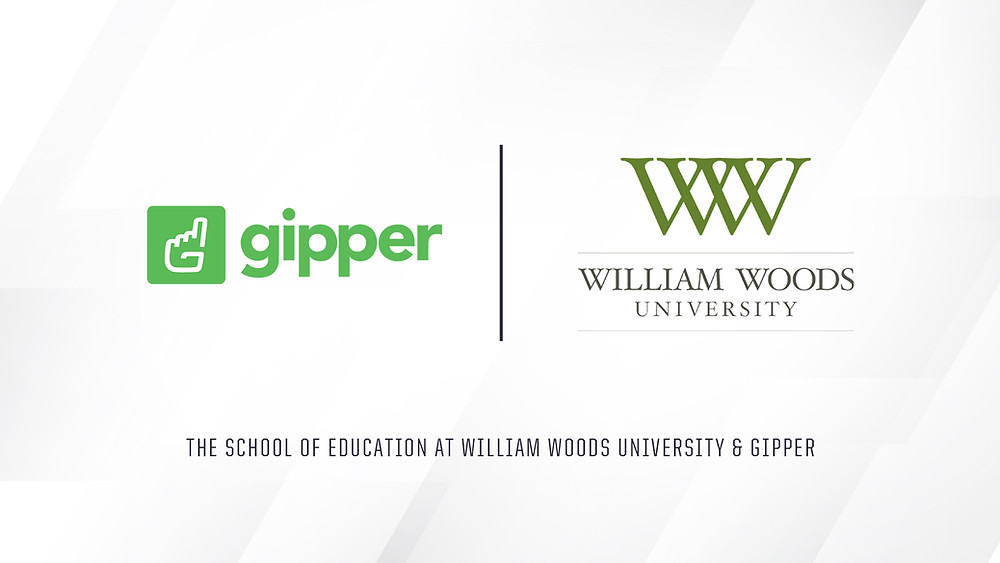 Gipper and the School of Education at William Woods University Partnership Graphic
