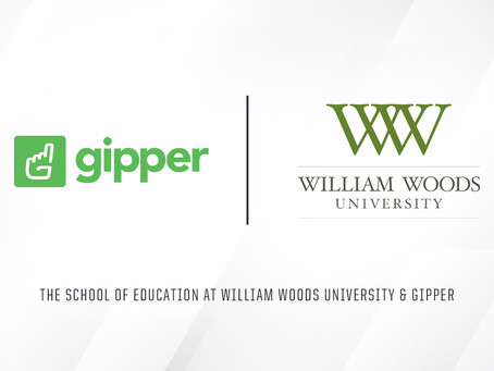 Gipper and The School of Education at William Woods University Announce New Partnership