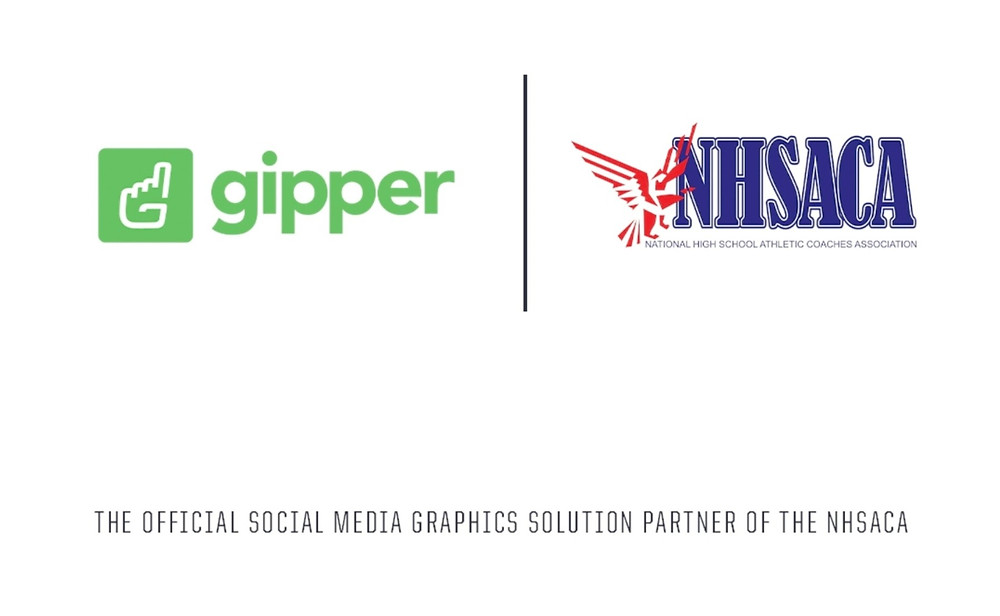 Gipper and NHSACA partnership graphic