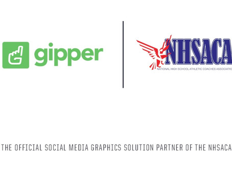 Gipper Signs Partnership to Become the Official Social Media Graphics Solution of the NHSACA