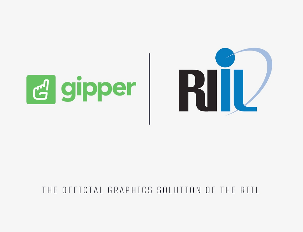 Gipper and RIIL partnership graphic