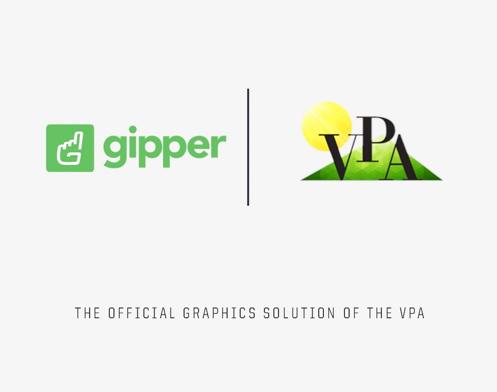 Gipper and VPA Partnership Graphic