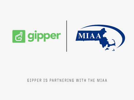 Gipper Signs Partnership with the Massachusetts Interscholastic Athletic Association (MIAA)