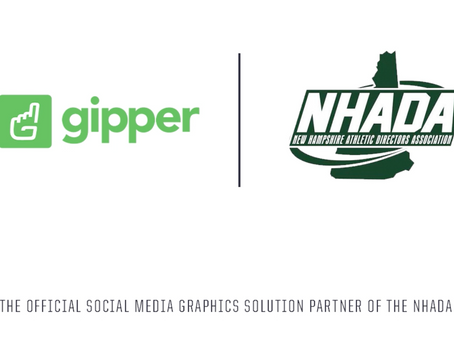 Gipper Signs Partnership to Become the Official Social Media Graphics Solution of the NHADA
