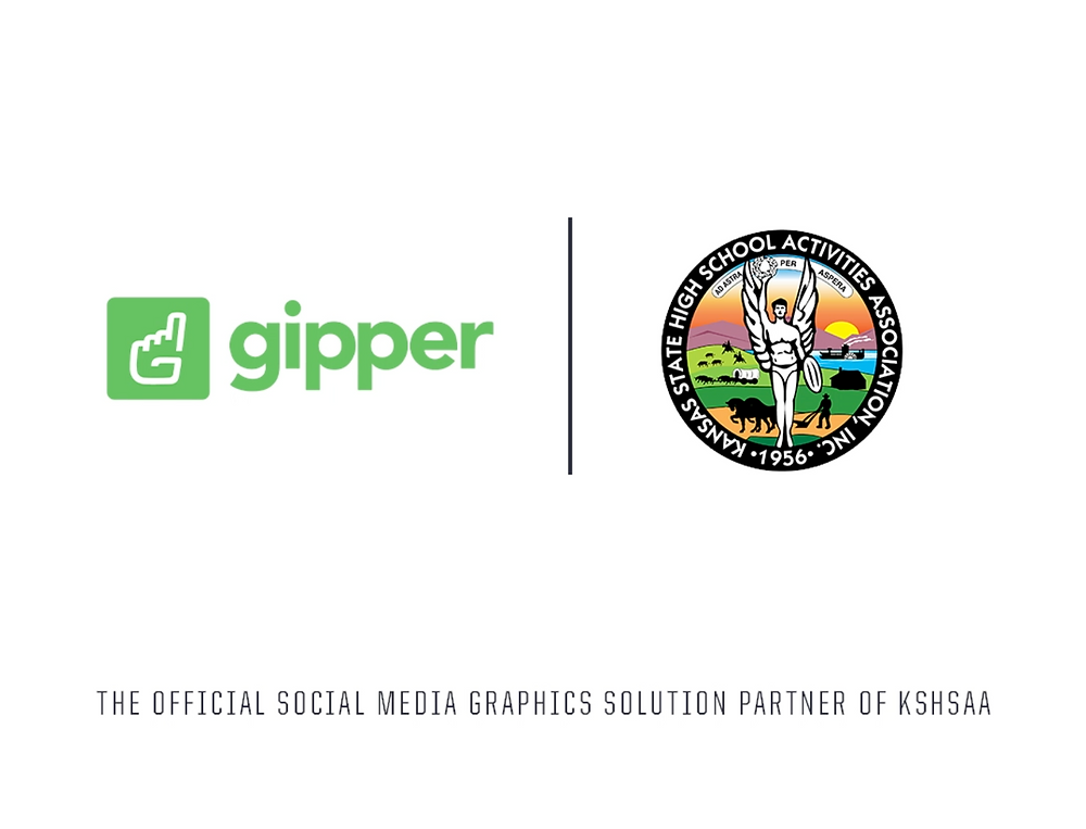 Gipper and KSHSAA partnership graphic